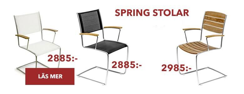 Rimliga priser på Spring stolar